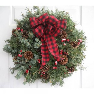 Wreath 8 inch Decorated